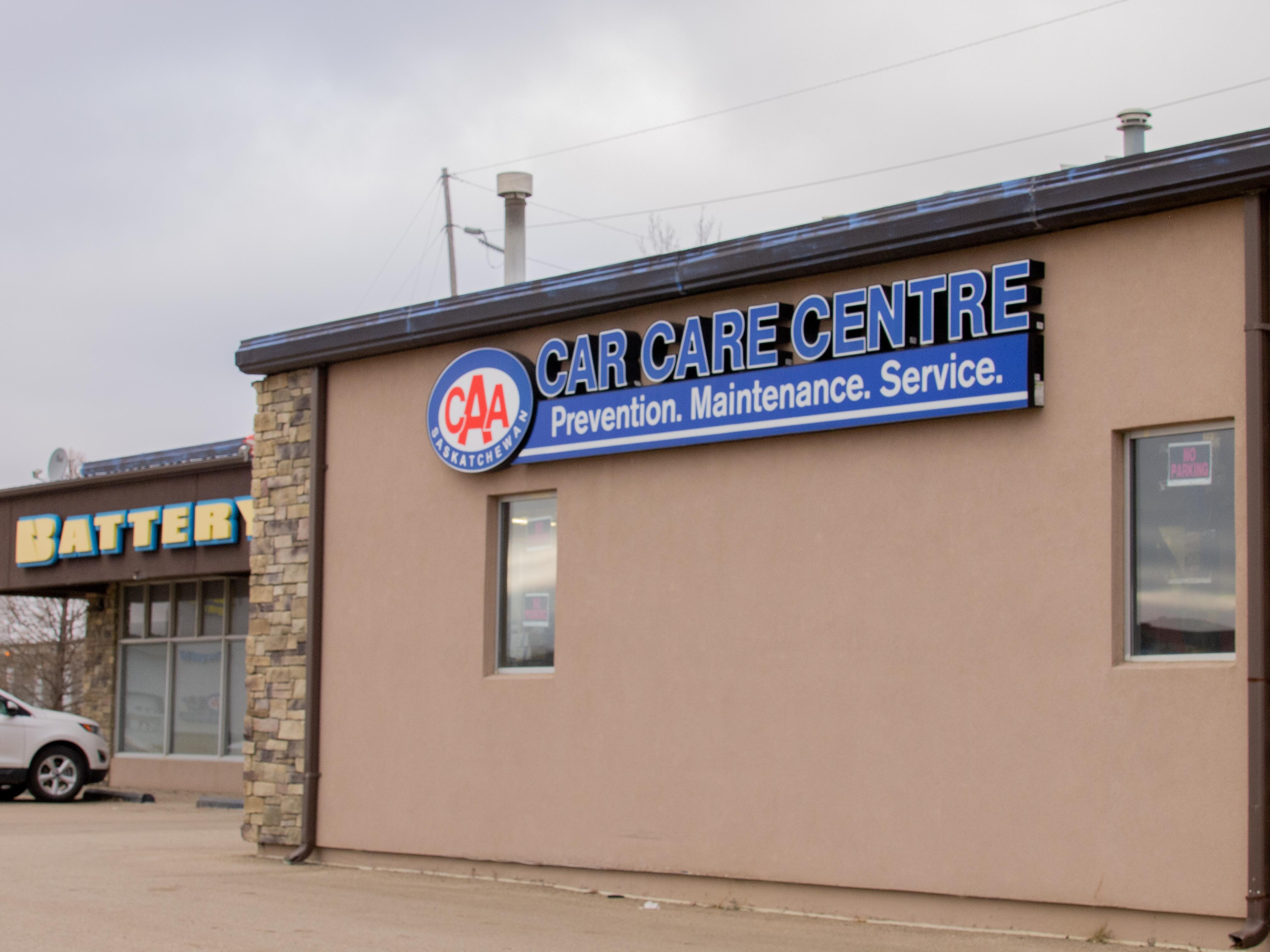 CAA Car Care Centre Regina Exterior of Building